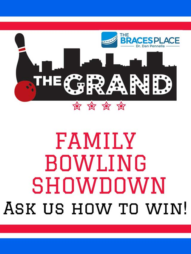 Family Bowling Showdown Flyer